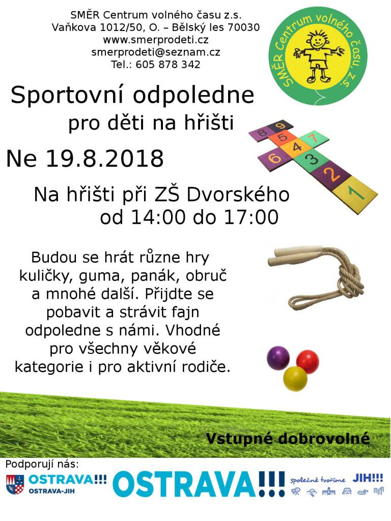 sportovní odpoledne 2018